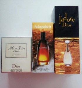 Набор мужская + женская туалетная вода Dior, духи