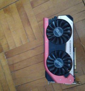 Видеокарта Gainward GeForce GTX 1060 6 gb