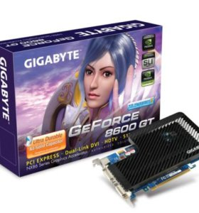 Видеокарта GIGABYTE GeForce 8600 GT Silent-Pipe II