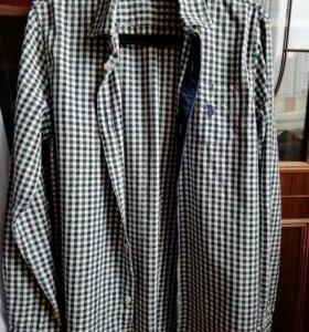 Рубашка мужская US polo ASSN