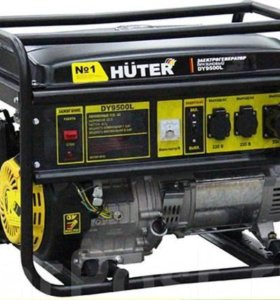 Генератор бензиновый Huter DY9500L
