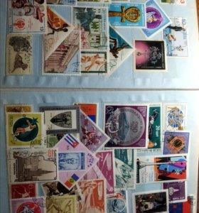 Коллекция марок 1968-1985 гг. Идеальное состояние
