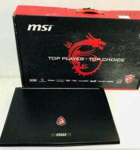 MSI i7-6700HQ\GeForce GTX 950m\17 экран IPS