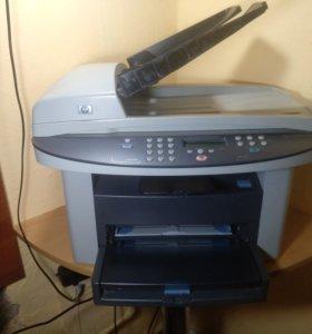 Лазерное мфу HP 3020 (Принтер, копир, сканер)