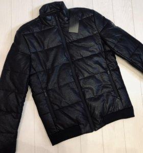Куртка тёплая кожаная Philipp Plein (новая)