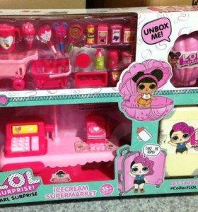 Супермаркет магазин лол для кукол лол