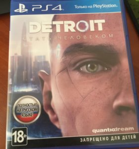 Detroit стать человеком (диск для PS4)