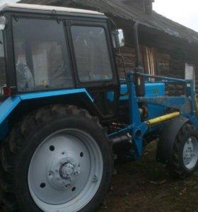 Трактор мтз 82.1 с куном