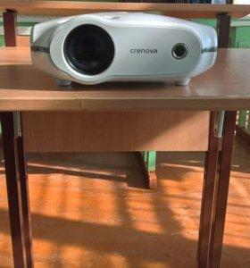 проектор Crenova новый 3200 люмен