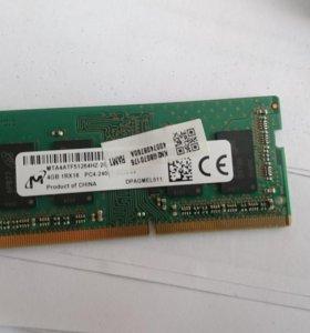 SODIMM DDR 4 4Gb 2400mg