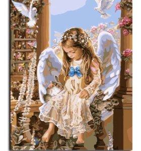 🎨Картина рисование по номерам Ангел 😇