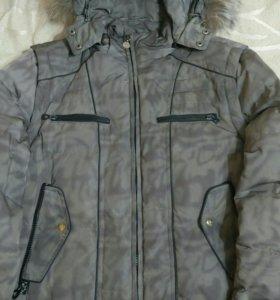 Мужская куртка-трансформер (пуховик-жилетка)