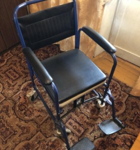 Кресло-коляска с санитарным оснащением Армед