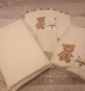 Набор в кроватку Maccaroni Kids Trendy 6 предметов