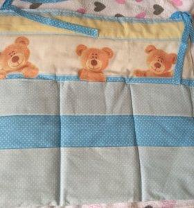Кармашки на кроватку