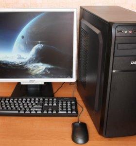 Системный блок компьютер для дома, работы