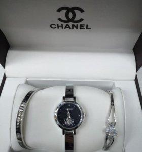 Женские часы Chanel Anne Klein в наборе