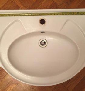 Раковина в ванную+смеситель