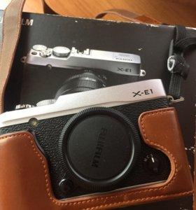 Фотоаппарат Fudjifilm X-E1