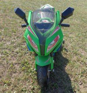 Детский аккумуляторный мотоцикл бмв М111мм