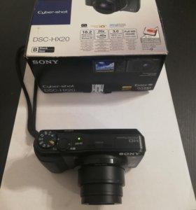 Фотоаппарат SONY DSC-HX20,20-й зум,Exmor R матрица