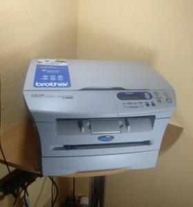 Лазерное мфу Brother 7010R(Принтер, копир, сканер)