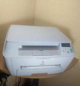 Лазерное мфу xerox PE-114 (Принтер, копир, сканер)
