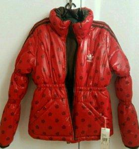 Куртка новая Adidas