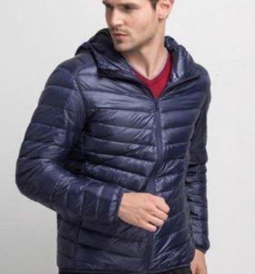 Куртка мужская демисезо весна капюшон