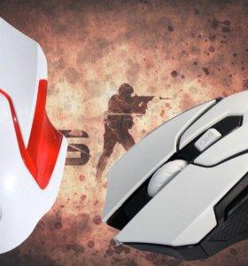 Мышка игровая оптическая Wolf M5-6D