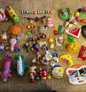 Игрушки от 0 до 4 лет