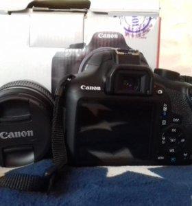 Зеркальный фотоаппарат с объективом Canon EOS 1300