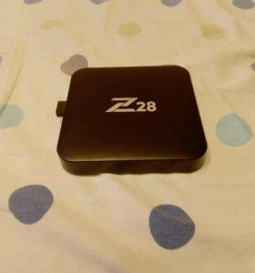 Телебокс z28 бу немного приставка к телевизору ин
