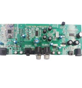 Усилитель 2.1 (2x10Вт+саб) с поддержкой Bluetooth