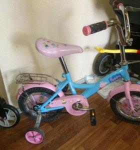 Велосипед детский 2-4года