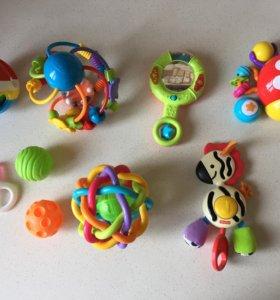 Игрушки пакетом или по отдельности