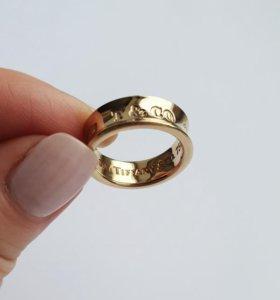 Кольцо Tiffany 1837, золото, оригинал