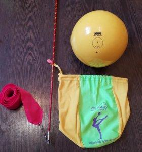 Мяч sasaki и чехол и лента для художественной гимн