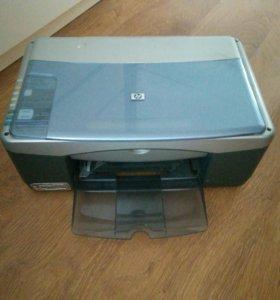 3 в одном принтер, сканер и ксерокс (струйный)