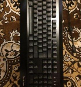 Клавиатура QCyber Zadiak и мышь QCyber HYPE RGB