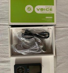 Плеер диктофон 8Гб (MP3, Flac)