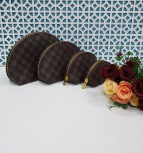 Набор косметичек 4 в 1 Louis Vuitton, Chanel