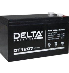 DELTA DT 1207 12В 7а/ч