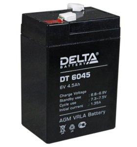 DELTA DT 6045 6В 4,5а/ч
