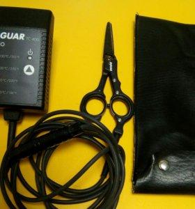 Горячие ножницы для стрижки волос ягуар