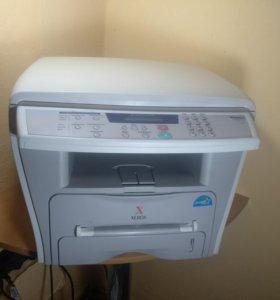Лазерное мфу xerox PE-16 (Принтер, копир, сканер)