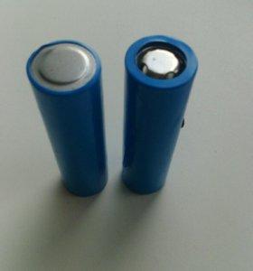 18650 муляж, аккумуляторная батарея, внутри песок.