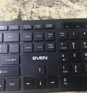 Клавиатура и мышь беспроводные