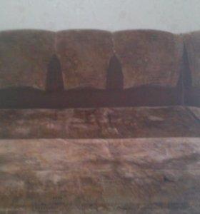 Продаю диван с креслом в хорошем состоянии
