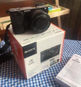 Фотоаппарат Sony a 6000+EPZ 16-50 F 3,5-5,6 OSS